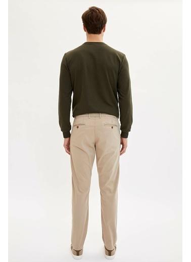DeFacto Slim Fit Basic Pantolon Bej